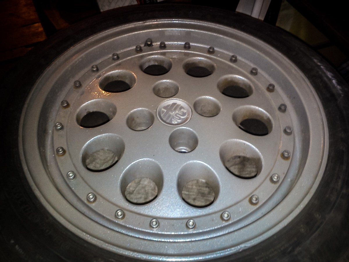Alfa Gift 3 Romeo 75 1991 Indy Rims The Are Propably From 90 Accessories Choice They 15 Inch Speedline Singlepiece Alloys I Bought Them Huge Fan Of Fiat Bartek